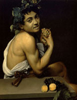 Sick Bacchus,or Self-portrait in the clothes of Bacchus/病