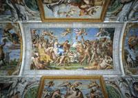 Triumph of Bacchus and Arianna/ガレリア・ファルネーゼ天井装飾画 26144000165| 写真素材・ストックフォト・画像・イラスト素材|アマナイメージズ