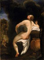 Io,copy of the original by Correggio/イオ(原作コレッジョ)