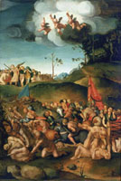 Painting of the Martyrdom of Saint Maurice and the eleven th