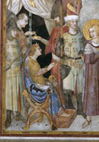 "Detail of the Emperor from the ""St. Martin renounces the li"