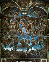 Last Judgement - Sistine Chapel, Rome - Vatican City (before