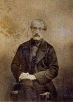 Three-quarter-length portrait of Giuseppe Mazzini