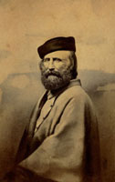 Half-length portrait of Giuseppe Garibaldi