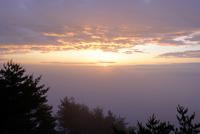 濃霧の北山崎