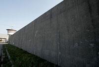 新潟刑務所の塀