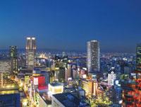 大阪市街夜景