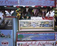 アイスクリームの販売車