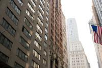 ニューヨークのビジネス街