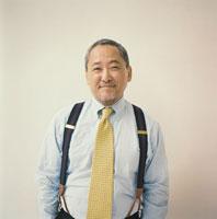 日本人シニア男性ポートレート