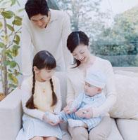 日本人家族の団欒