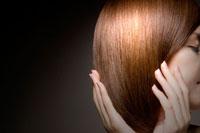 20代日本人女性のヘアのビューティーイメージ 30015001159| 写真素材・ストックフォト・画像・イラスト素材|アマナイメージズ
