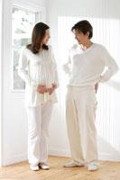日本人夫婦のマタニティー写真