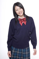制服姿の日本人の女子高生 30018000667| 写真素材・ストックフォト・画像・イラスト素材|アマナイメージズ
