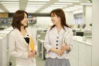 オフィスで働く日本人女性2名