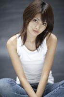 20代日本人女性のビューティーイメージ 30018001362| 写真素材・ストックフォト・画像・イラスト素材|アマナイメージズ