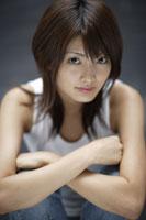 20代日本人女性のビューティーイメージ 30018001363| 写真素材・ストックフォト・画像・イラスト素材|アマナイメージズ