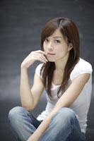 20代日本人女性のビューティーイメージ 30018001366| 写真素材・ストックフォト・画像・イラスト素材|アマナイメージズ
