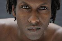 20代黒人男性のビューティーイメージ