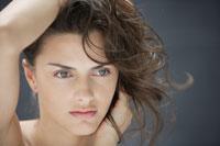 20代白人女性のビューティーイメージ