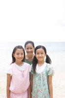 浜辺の女の子達