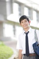 学校にいる中学生の男の子 30018001629A| 写真素材・ストックフォト・画像・イラスト素材|アマナイメージズ