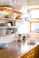 キッチンの棚 30032000094| 写真素材・ストックフォト・画像・イラスト素材|アマナイメージズ
