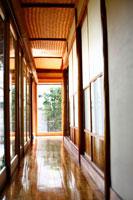 日本家屋の廊下