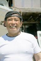 笑顔の漁師のポートレイト 30037000080| 写真素材・ストックフォト・画像・イラスト素材|アマナイメージズ