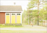 遊具と建物 31005000003| 写真素材・ストックフォト・画像・イラスト素材|アマナイメージズ