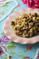 鶏肉とコロコロ野菜の炒め物