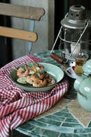 海老の串焼き ライムの香り