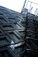 壁面と階段