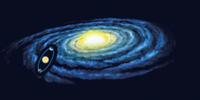 夏の天の川がはっきり見える訳(天の川銀河と地球の関係)
