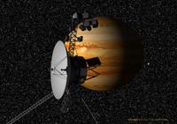 木星を観測するボイジャー1号 32027000011| 写真素材・ストックフォト・画像・イラスト素材|アマナイメージズ