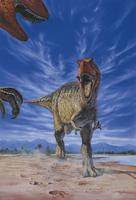 アロサウルス (フクイラプトル キタダニエンシス) 32041000004| 写真素材・ストックフォト・画像・イラスト素材|アマナイメージズ