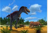 白亜紀後期:北アメリカの恐竜