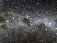 みなみじゅうじ座と暗黒星雲