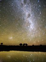大マゼラン星雲と天の川