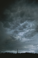 積乱雲の雲底