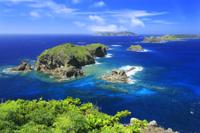 小富士から南崎の鰹鳥島