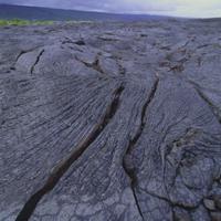 キラウェア火山 溶岩
