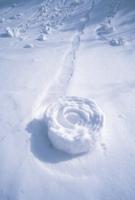 雪まくり 32118000294  写真素材・ストックフォト・画像・イラスト素材 アマナイメージズ