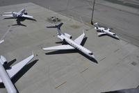 サンフランシスコ国際空港のプライベート・ジェット駐機場