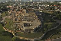 スペイン植民地時代に築かれたサン・フェリペ・デ・バラハス城