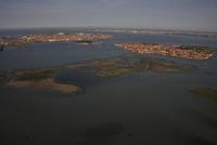 干潟とムラーノ島 サン・ミケーレ島 ベネチア本島
