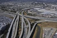 サンフランシスコ国際空港付近のジャンクション