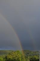 虹(ダブル) 32171003157  写真素材・ストックフォト・画像・イラスト素材 アマナイメージズ