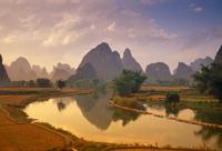 River Li nr Yangshou, Guangx Provincei, China