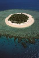 マラマラ島のサンゴ礁